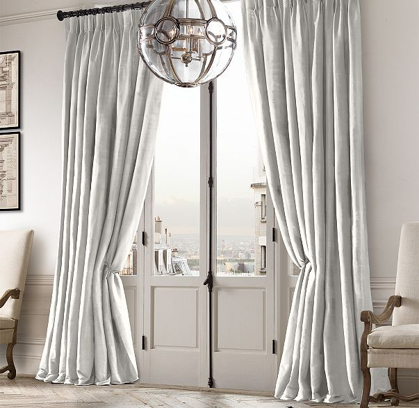 Lals on clearance restoration hardware hand loomed thai for Restoration hardware silk curtains