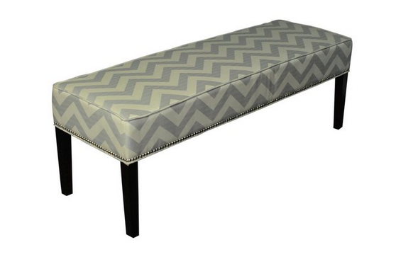 West Elm Essex Printed And Upholstered Benches Decor Look Alikes