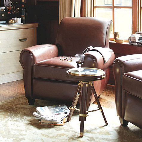 Ballard Paris Leather Chair