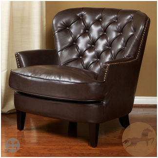 Overstock Tafton Tufted Club Chair