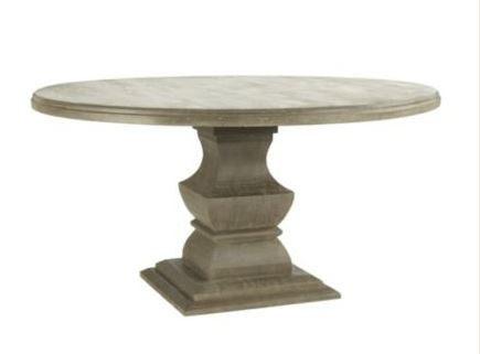 Ballard designs andrews pedestal dining table