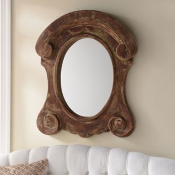 Decor Look Alikes | Kirkland's Rhonda Wood Mirror