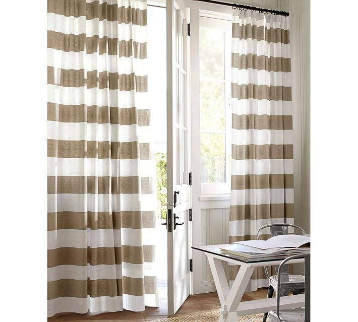 Decor Look Alikes | PB Classic Stripe Drapes