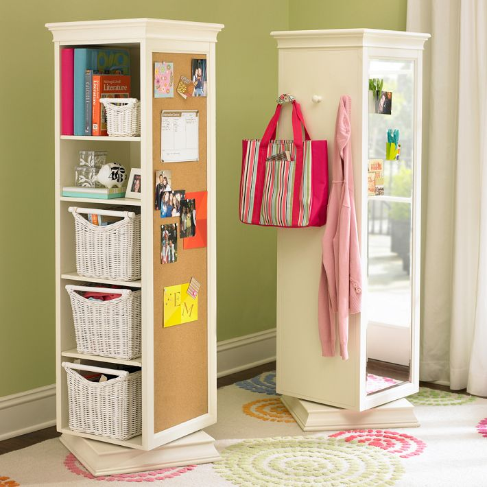 Decor Look Alikes | PB Teen Display-It Storage Mirror