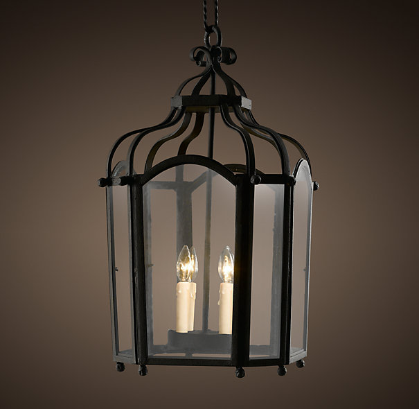 Restoration hardware barcelona iron pendant decor look for When is restoration hardware lighting sale