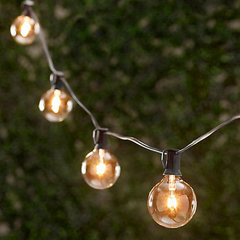Decor Look Alikes | Ballard Designs Globe String Lights