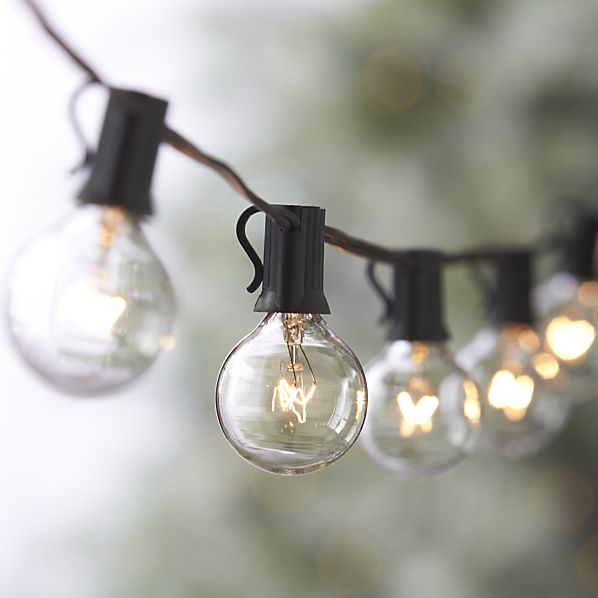 Decor Look Alikes | Crate and Barrel Globe String Lights