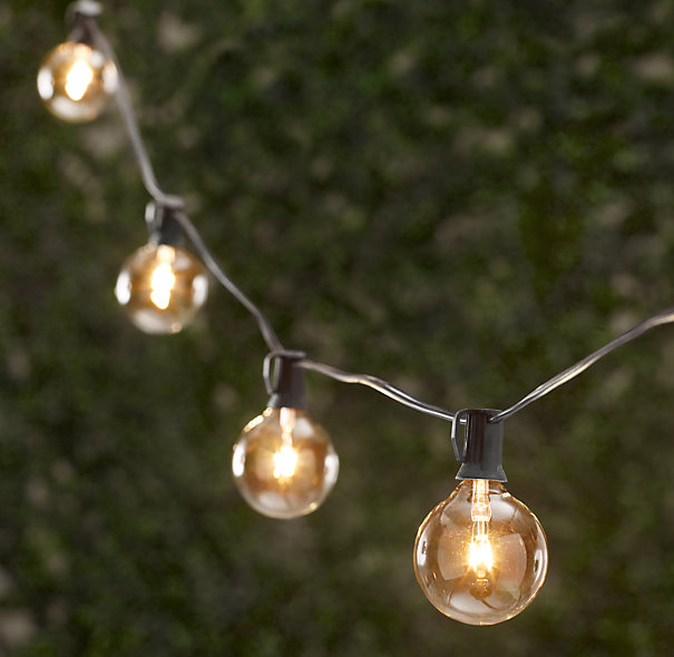 Decor Look Alikes | Restoration Hardware Party Globe String Lights