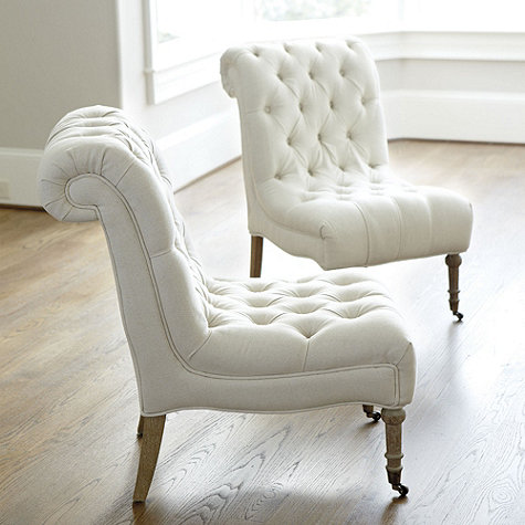 Ballard Designs Cecily Armless Chair Decor Look Alikes