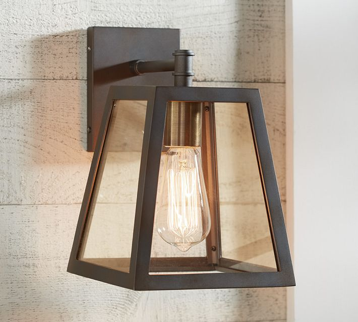 Restoration Hardware Modern Filament Sconce Decor Look