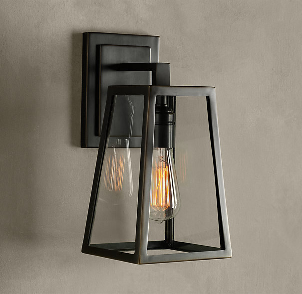 Restoration hardware modern filament sconce decor look for When is restoration hardware lighting sale