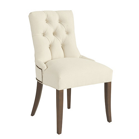 Flash sale lals tufted dining chairs decor look alikes for Tufted dining chairs for sale