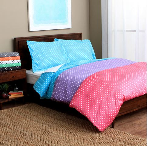 Decor Look Alikes | Overstock Polka Dot Duvet Cover Set