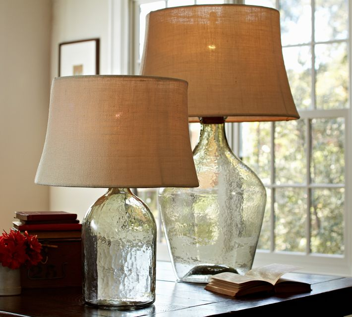 Pottery Barn Clift Glass Table Lamp Decor Look Alikes