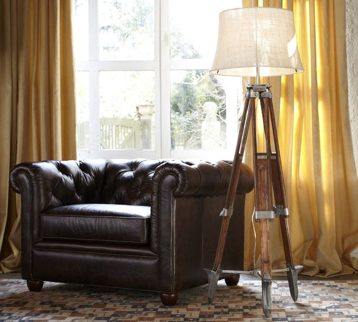 Restoration Hardware Surveyors Tripod Floor Lamp Decor Look Alikes - Restoration hardware floor lamps