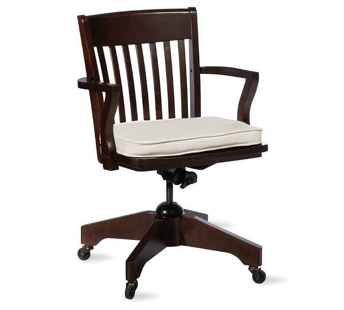 pottery barn swivel desk chair | decor look alikes