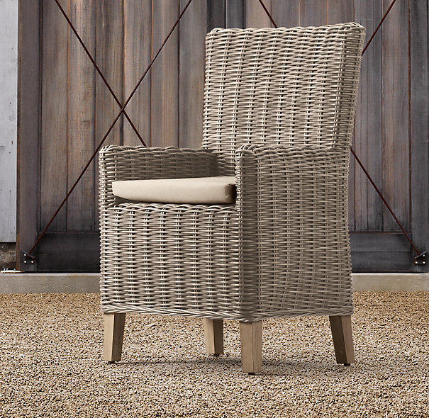 Decor Look Alikes | Restoration Hardware Majorica Armchair