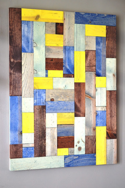 This Girl's Life Blog: PB Inspired Wood Art