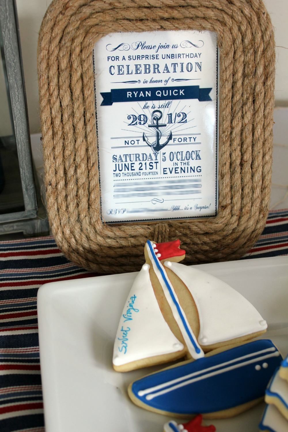 Decor Look Alikes | A Nautical Birthday