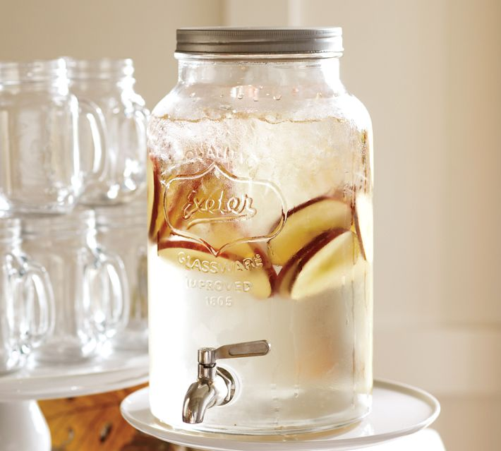 Decor Look Alikes | Pottery Barn Mason Jar Drink Dispenser