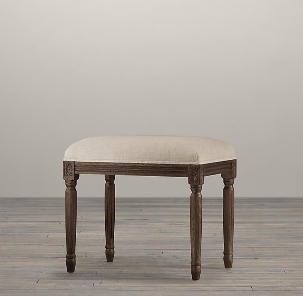Decor Look Alikes | Restoration Hardware Louis Stool