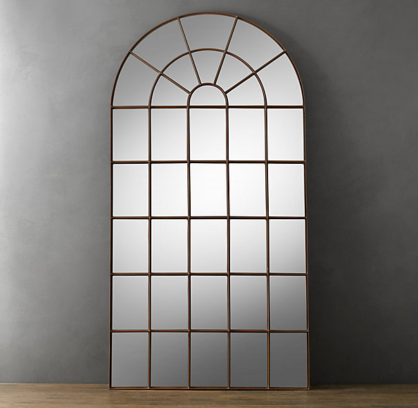 Decor Look Alikes | Restoration Hardware Palladian Mirror