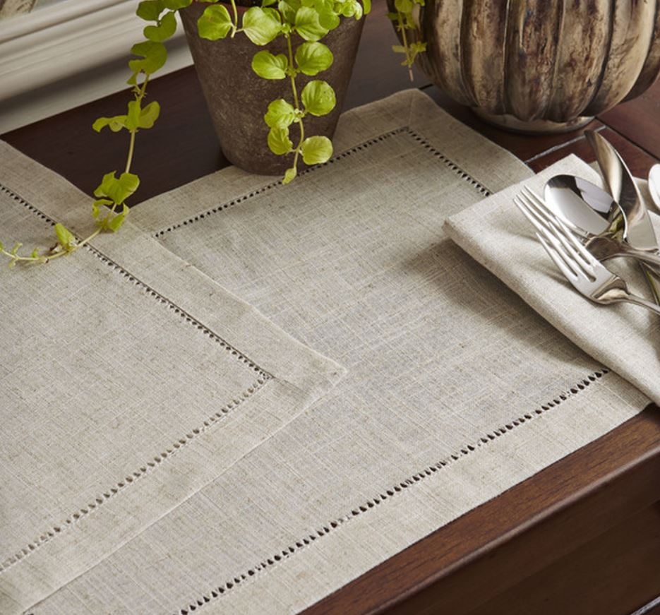 Decor Look Alikes | Birch Lane Macy Linen Placemats