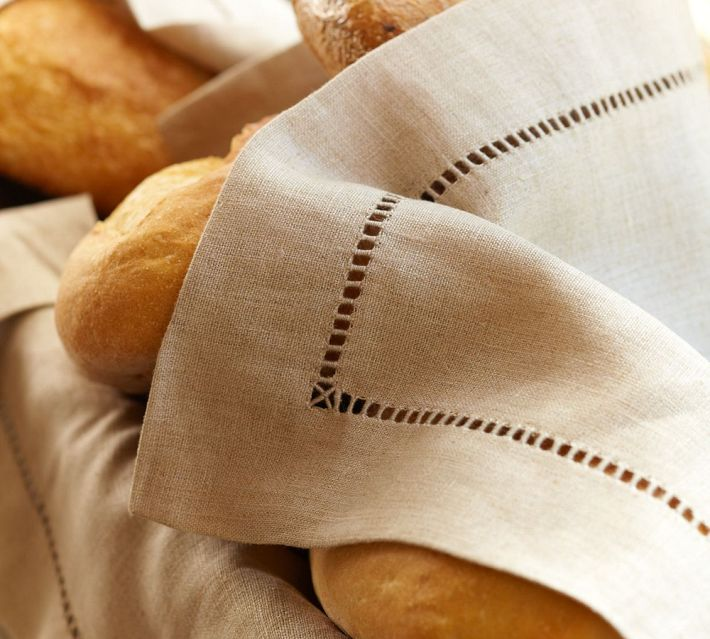 Decor Look Alikes | Pottery Barn Linen Hemstitch Napkins