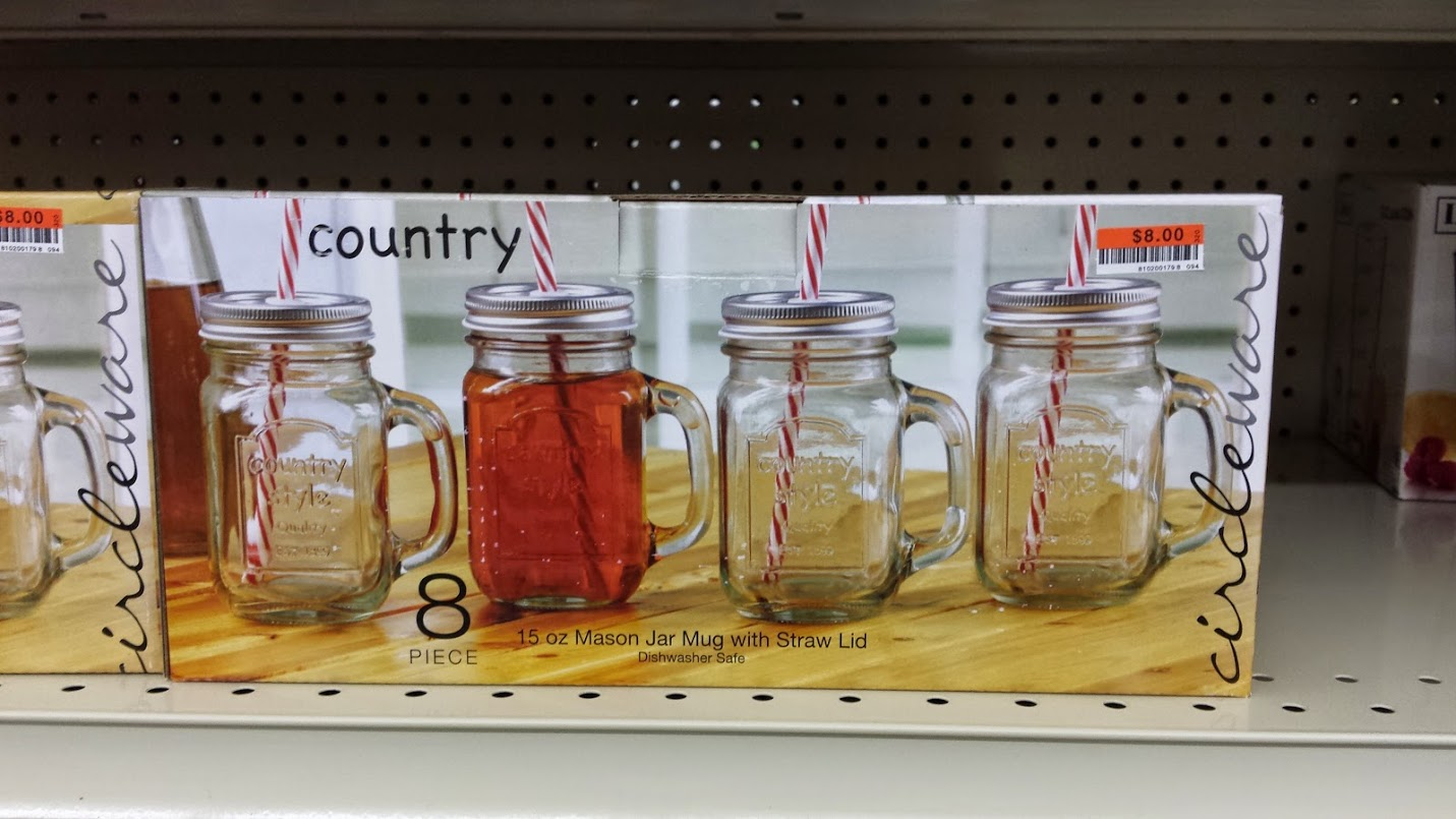 Decor Look Alikes | Big Lots Mason Jar Mugs