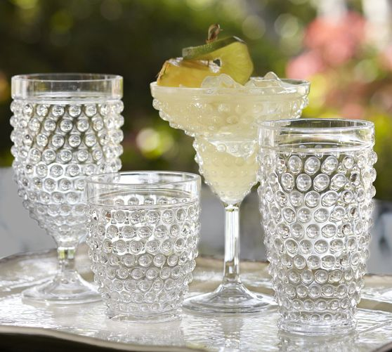 Decor Look Alikes | Pottery Barn Hobnail Outdoor Drinkware