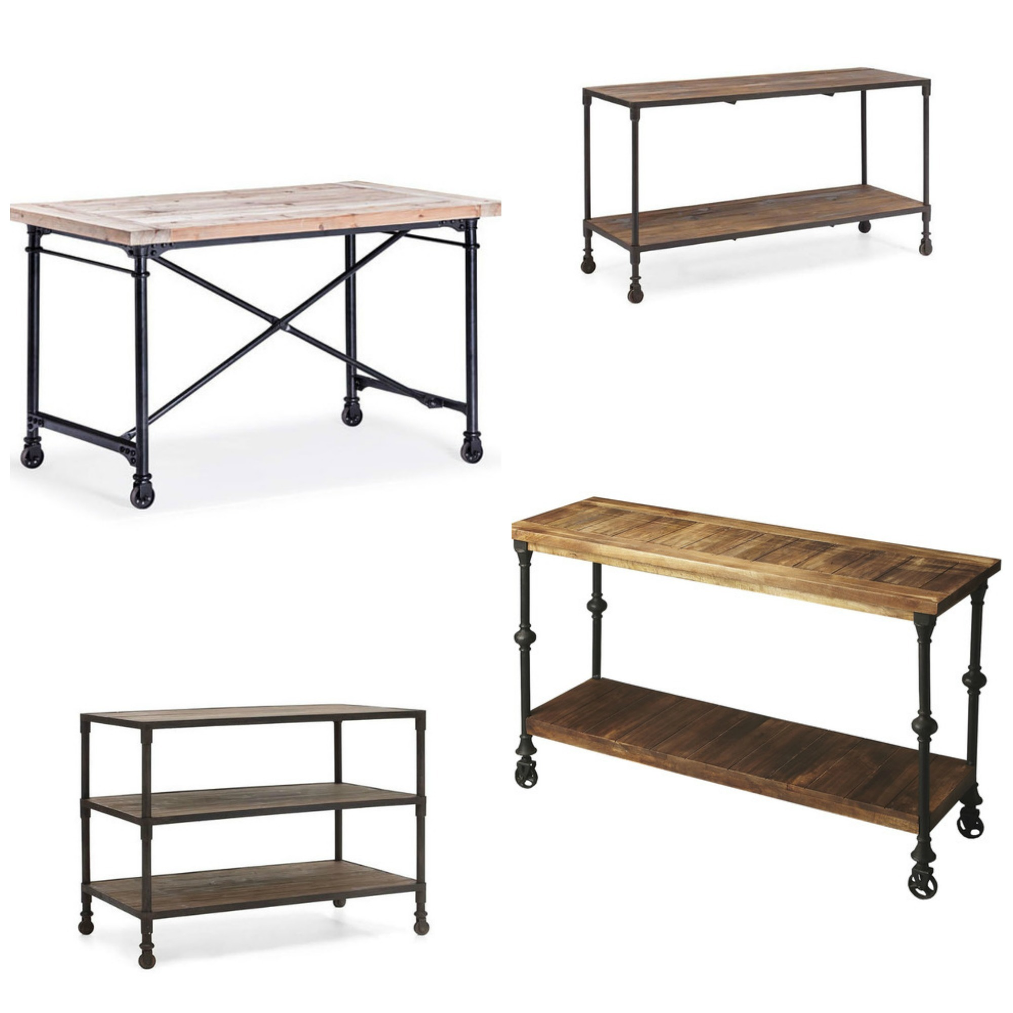 Decor Look Alikes   Dot & Bo Industrial Collection