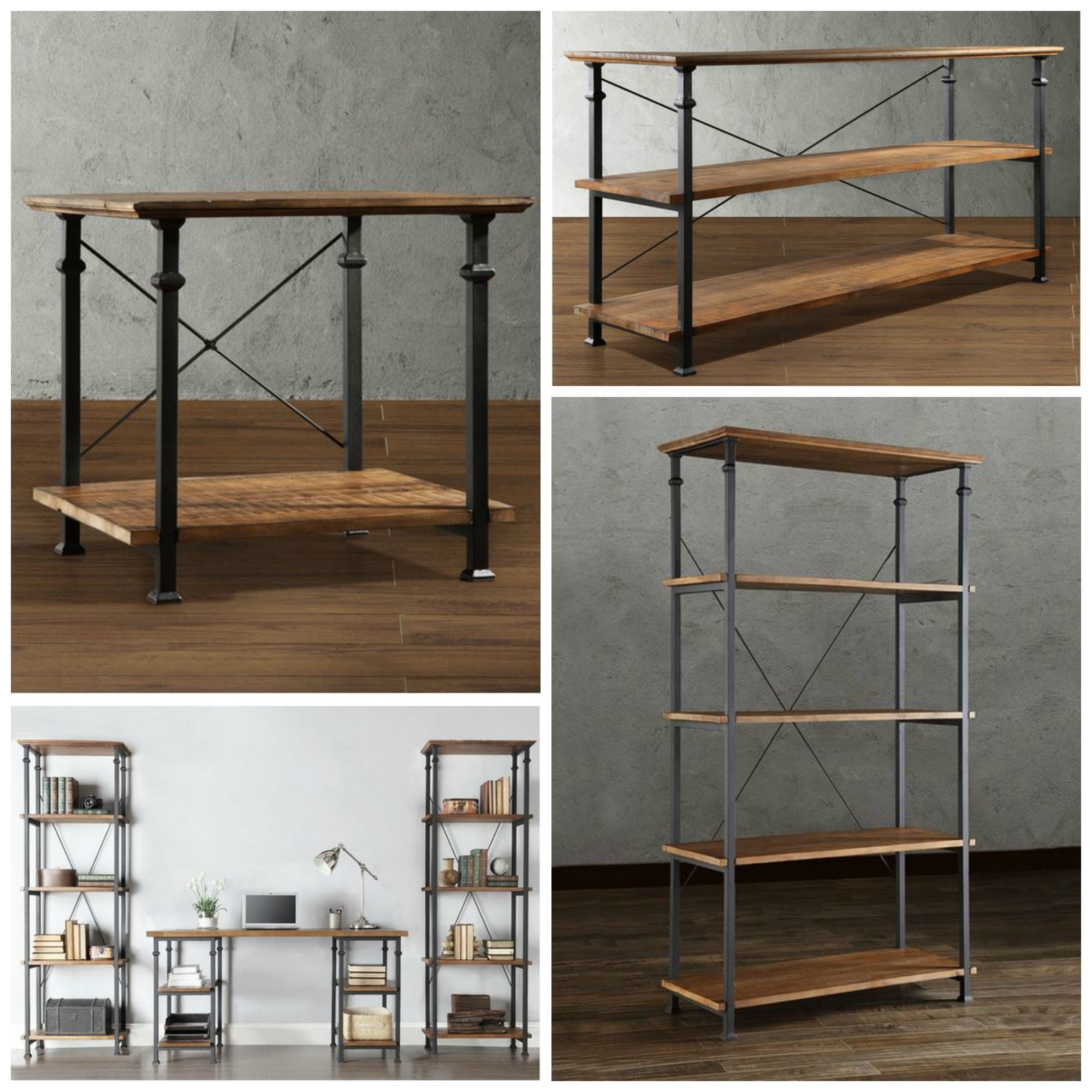 Decor Look Alikes | Overstock Myra Vintage Industrial Collection