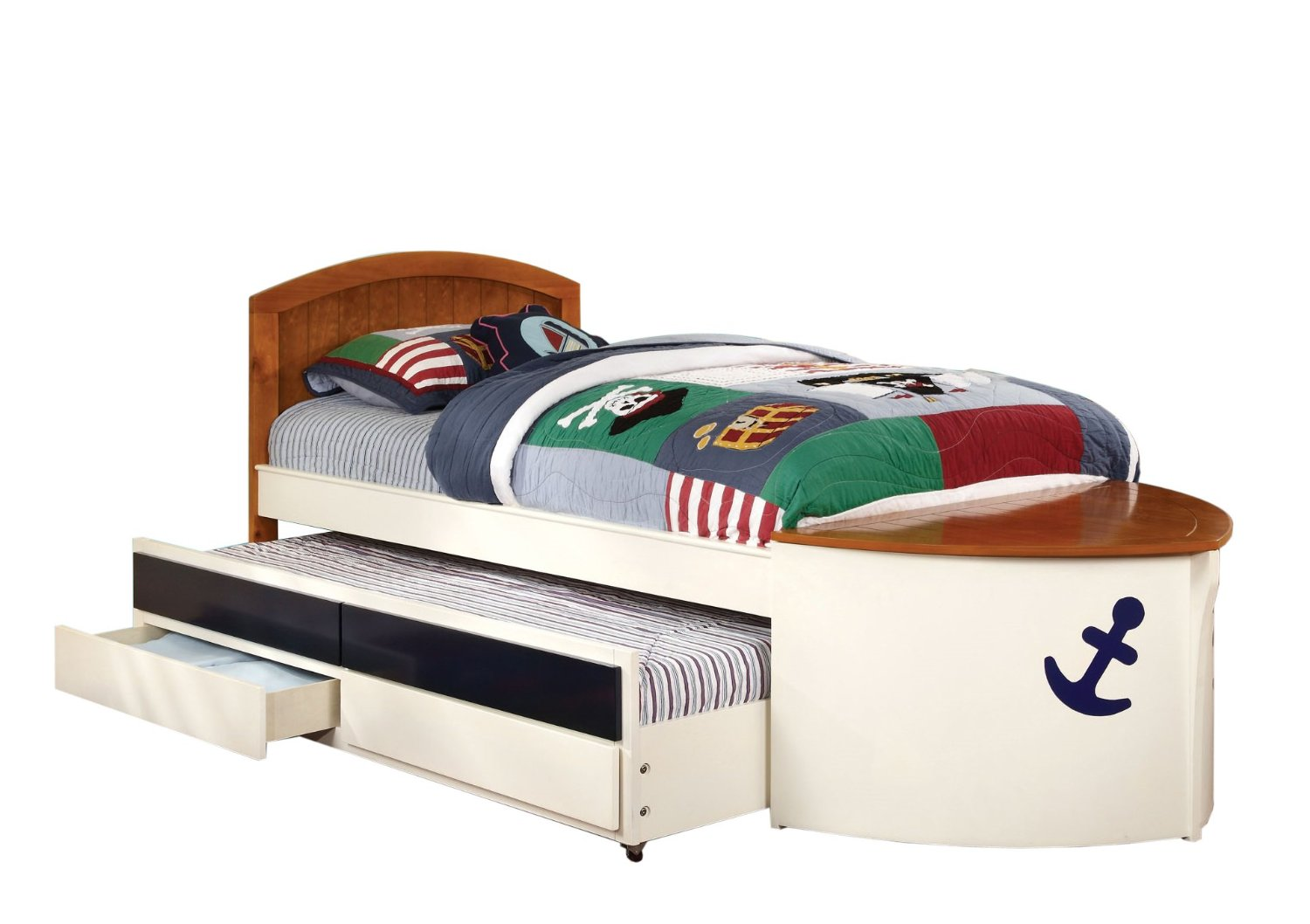 Pottery Barn Kids Speedboat Ii Bed And Trundle Decor