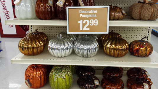 Decor Look Alikes | Big Lots Vintage Glass Pumpkins