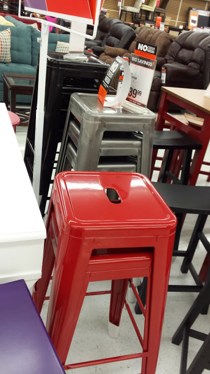 Decor Look Alikes Big Lots Retro Barstools