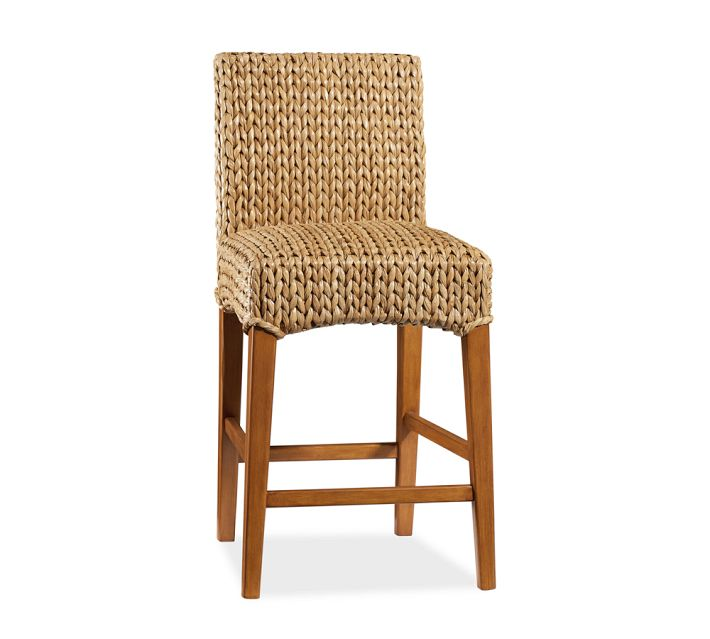 Decor Look Alikes | Pottery Barn Seagrass Barstool