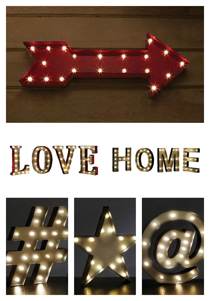 Decor Look Alike | Kohl's Marquee Signs