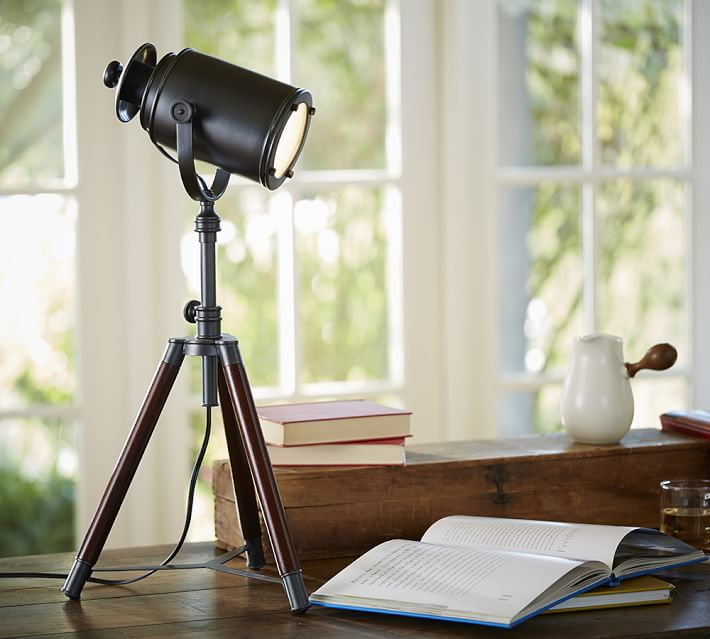Decor Look Alikes | Pottery Barn Photographer's Tripod Table Lamp