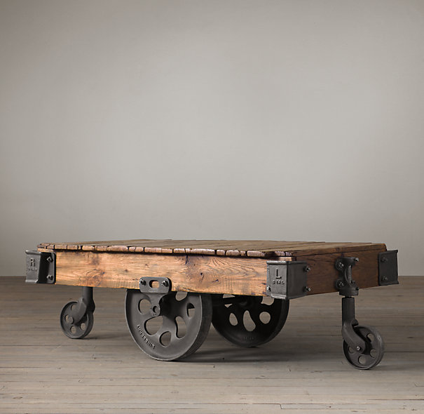 Train Cart Coffee Table Rascalartsnyc
