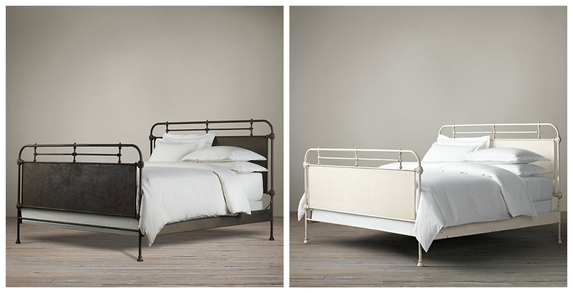 Decor Look Alikes | French Acedemie Iron Bed