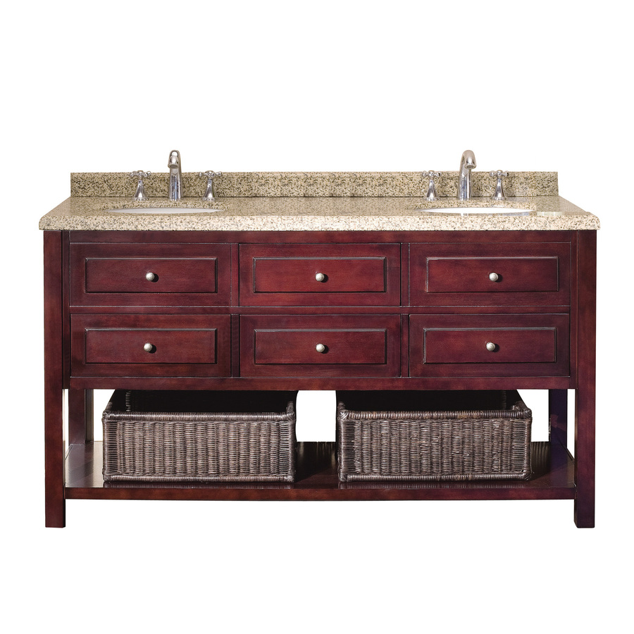 Decor Look Alikes | Lowes Ove Decors Mahogany Vanity