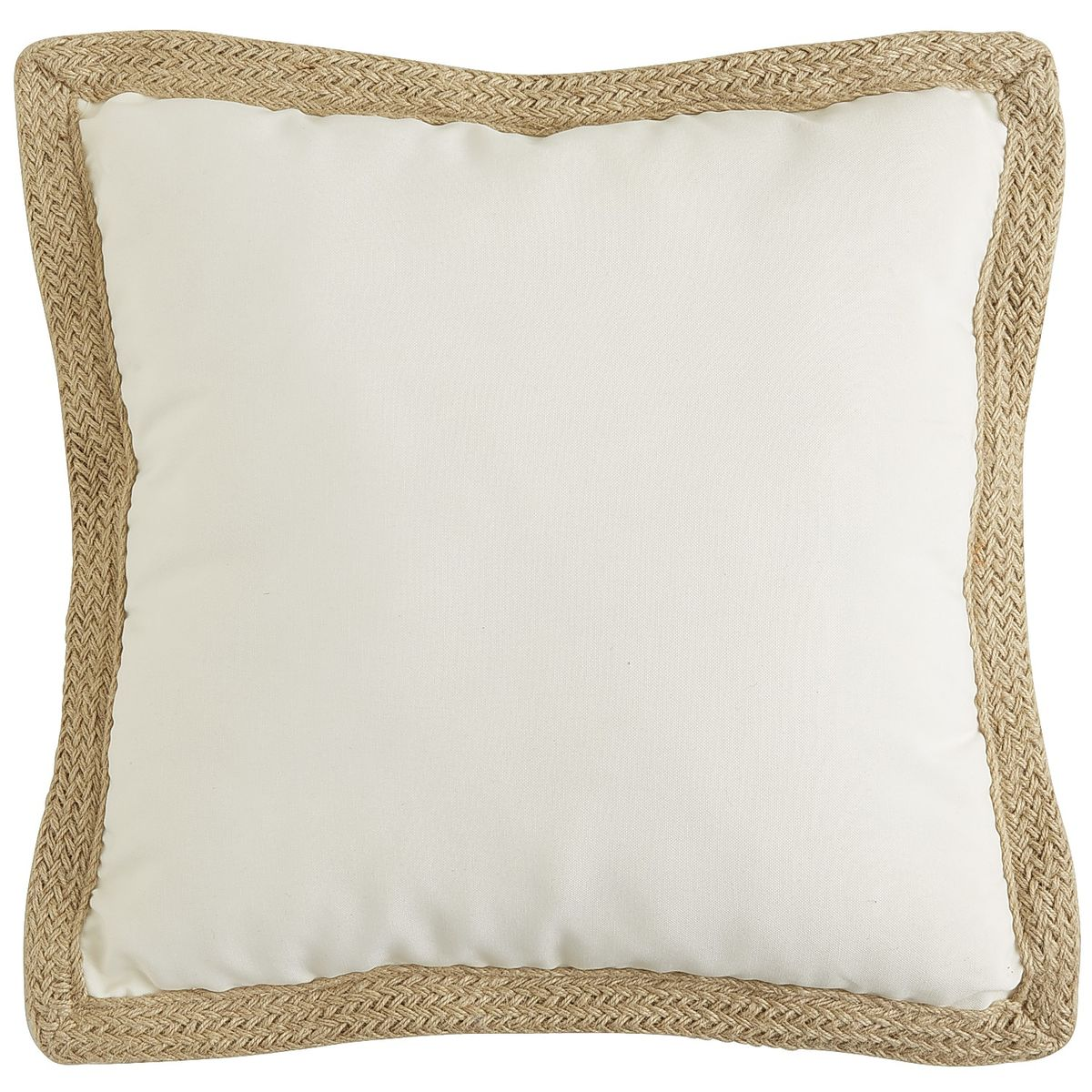 Decor Look Alikes | Pier 1 Cabana Jute Trim Pillow