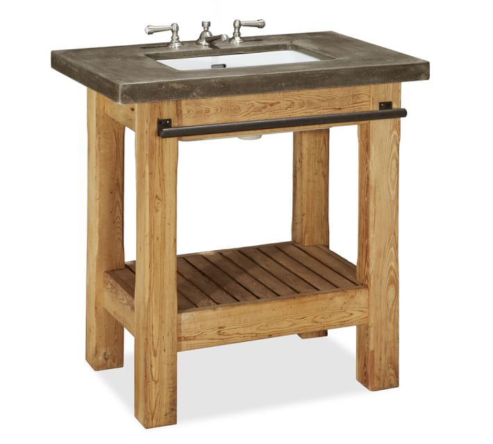 Decor Look Alikes | Pottery Barn Abbott Single Sink Console