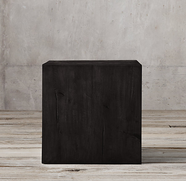 Decor Look Alikes | Restoration Hardware Reclaimed Russian Oak Parsons Cube