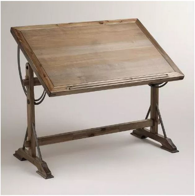 Restoration Hardware 1920 S French Drafting Table Decor