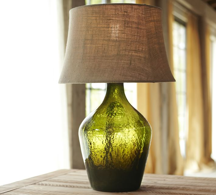 Decor Look Alikes | Pottery Barn Clift Glass Table Lamp