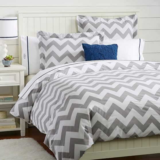 Decor Look Alikes | Pottery Barn Chevron Duvet Cover and Shams