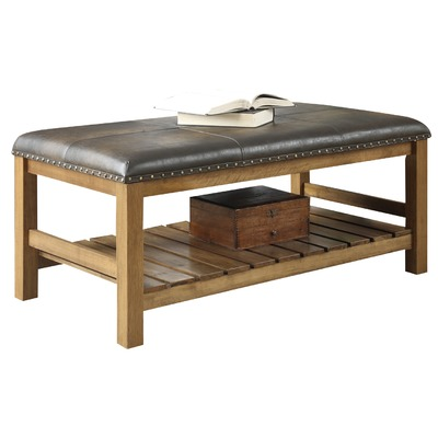 Decor Look Alikes | Perkins Ottoman Bench