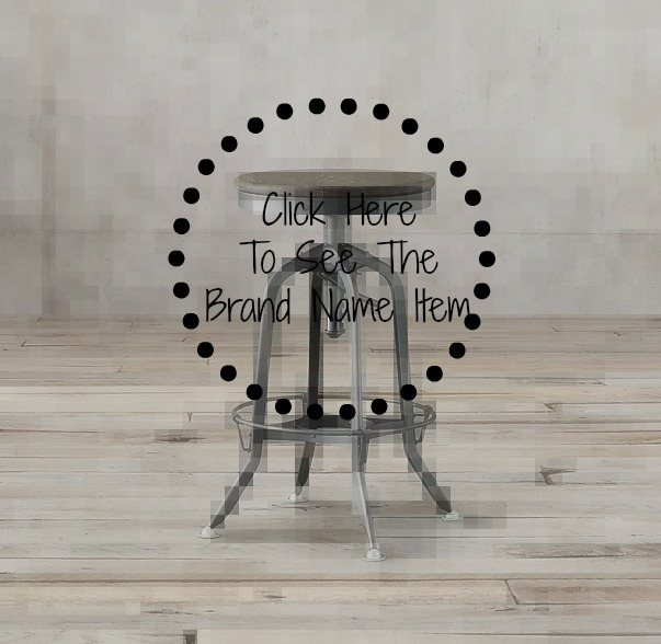 Decor Look Alikes | Restoration Hardware Toledo Barstool