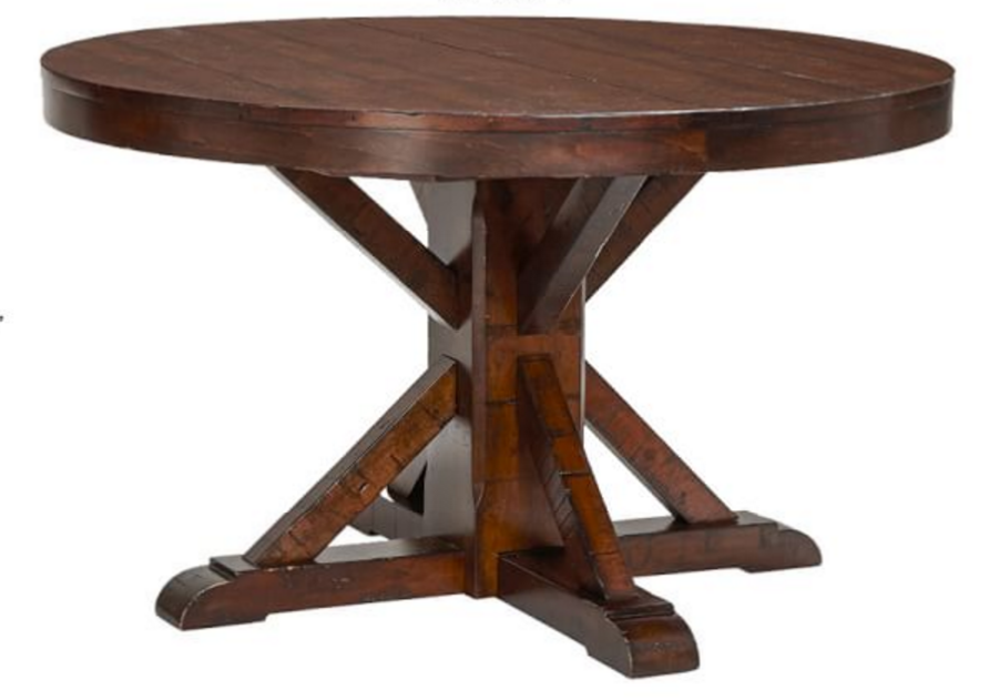 Decor Look Alikes | Pottery Barn Benchwright Fixed Dining Table